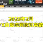 Exy-2FX研究所内自動売買(EA)の取引実績・月間成長率2020年2月