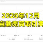 Exy-2FX研究所内自動売買(EA)の取引実績・月間成長率2020年12月