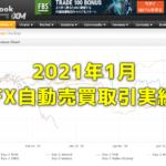 Exy-2FX研究所内自動売買(EA)の取引実績・月間成長率2021年1月